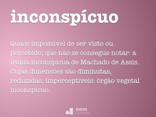 inconsp�cuo