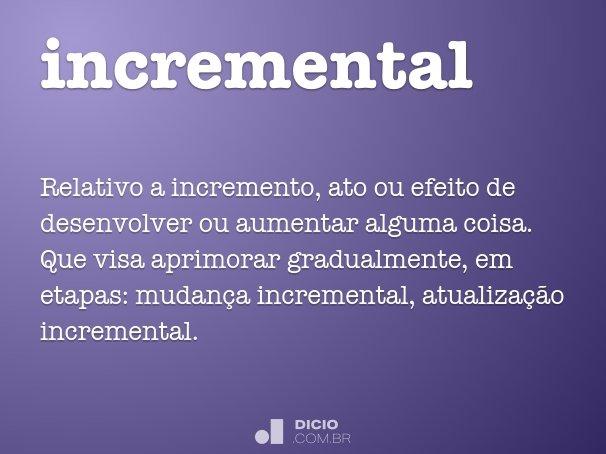 incremental