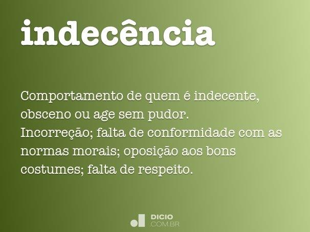 indecência