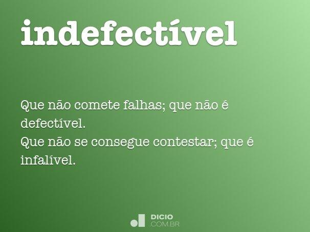 indefect�vel