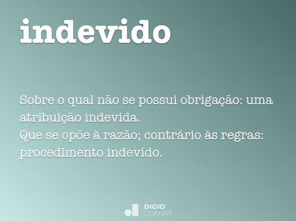 indevido