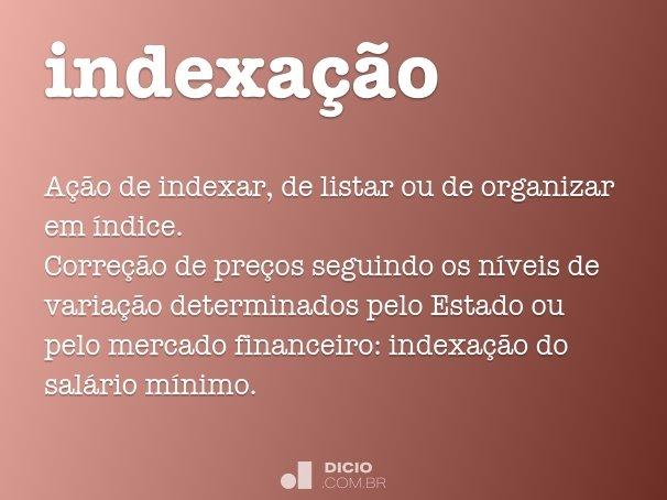 indexa��o