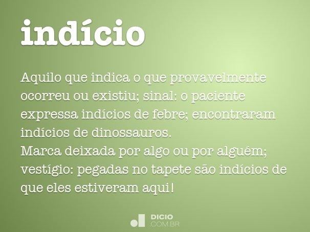 ind�cio
