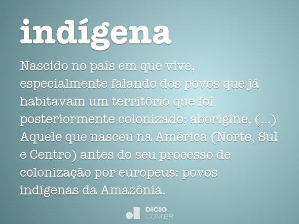 ind�gena
