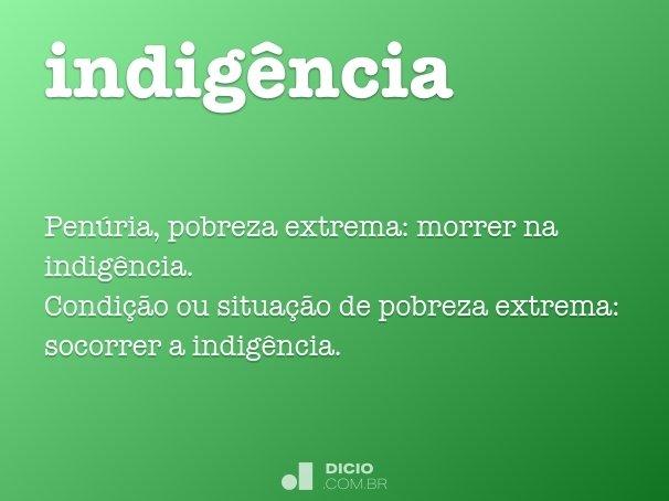 indig�ncia