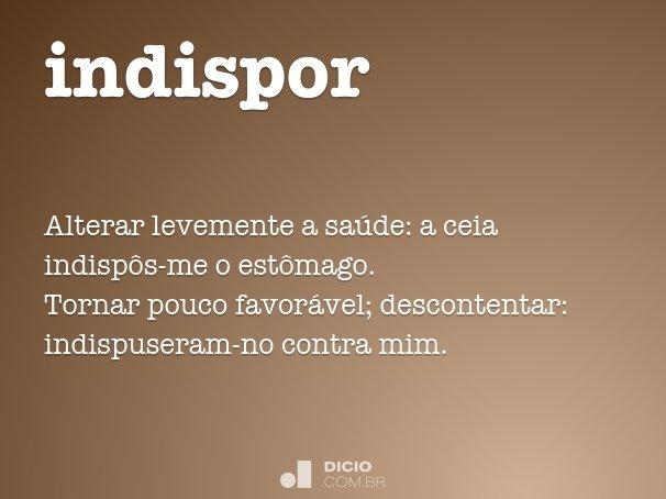 indispor