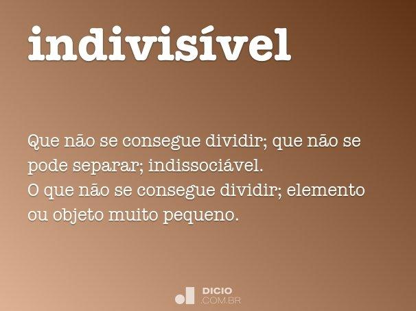 indivis�vel