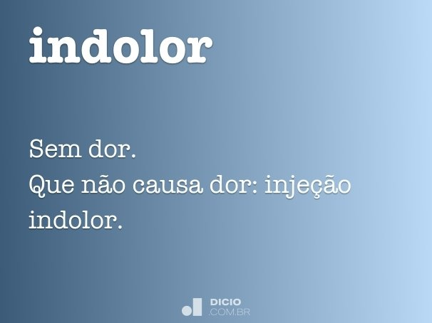 indolor