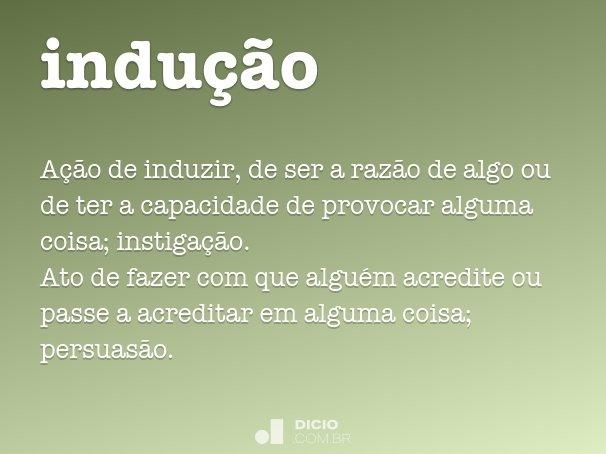 indu��o