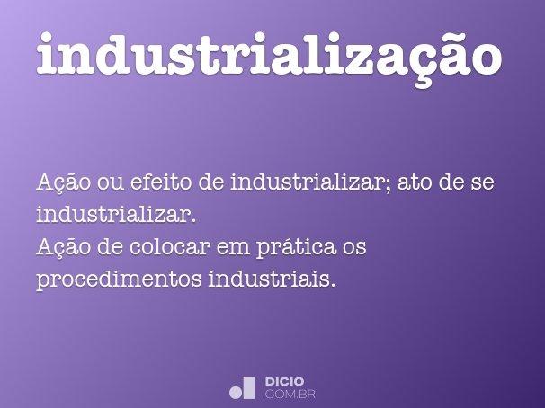industrializa��o