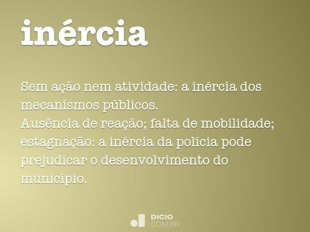 inércia