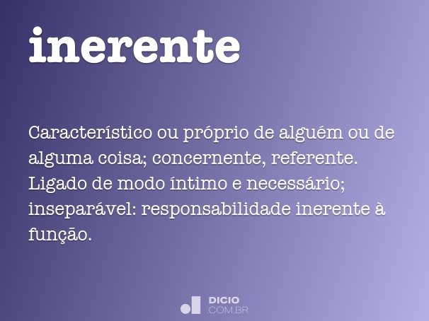 inerente