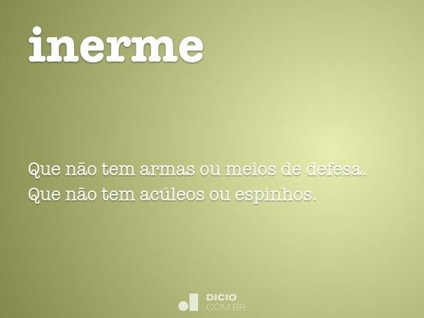 inerme