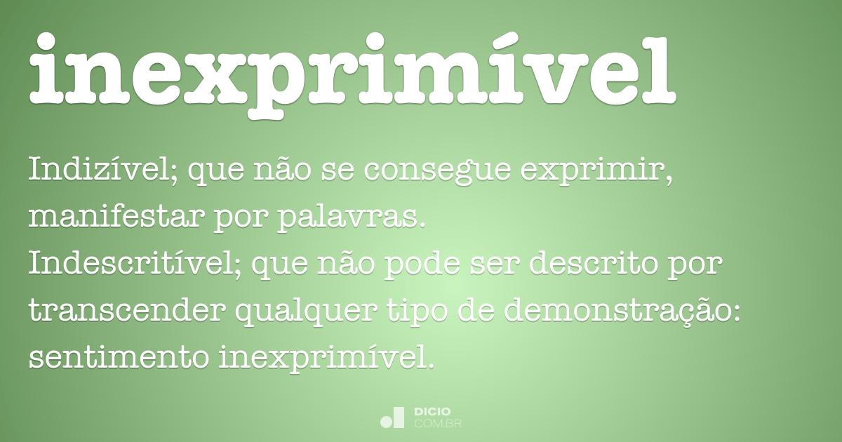 Inexprim vel dicion rio online de portugu s - Sinonimos de encantar ...
