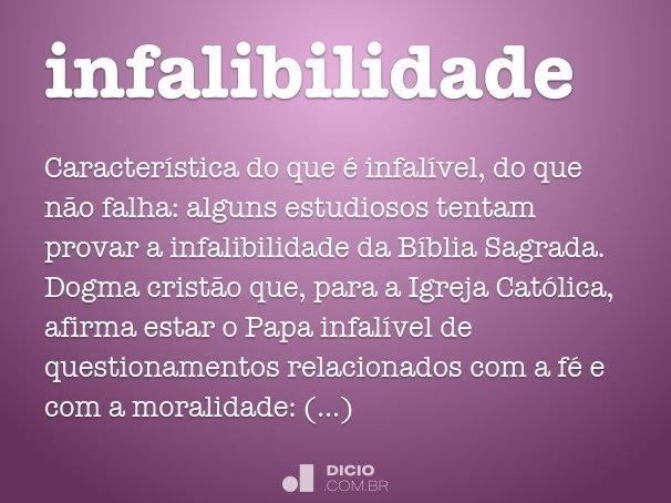 infalibilidade