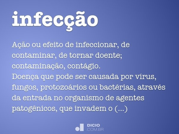 infec��o