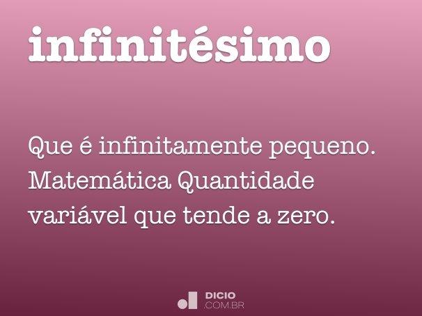 infinitésimo