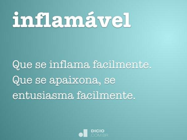 inflamável