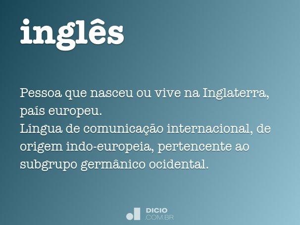 ingl�s