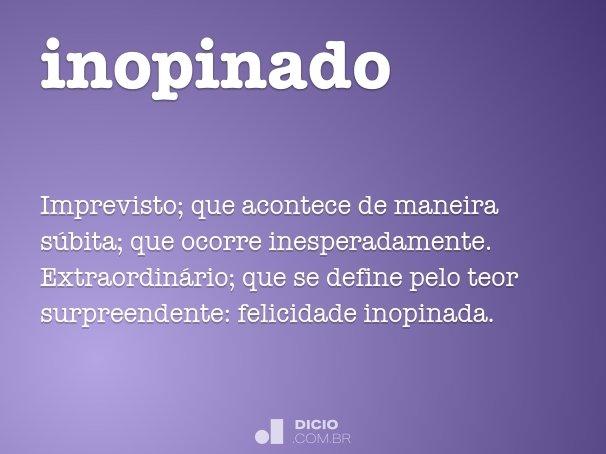 inopinado