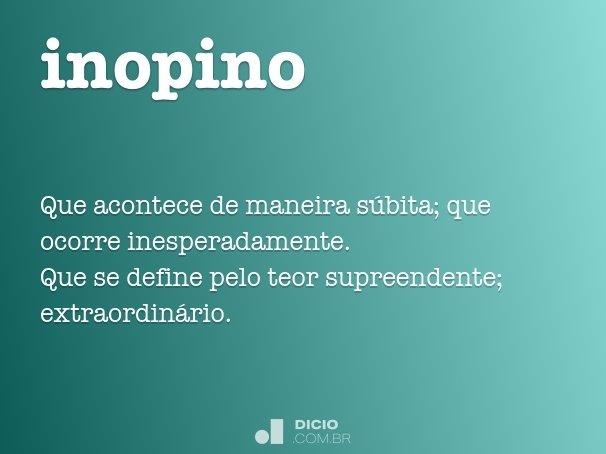 inopino