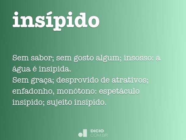 ins�pido