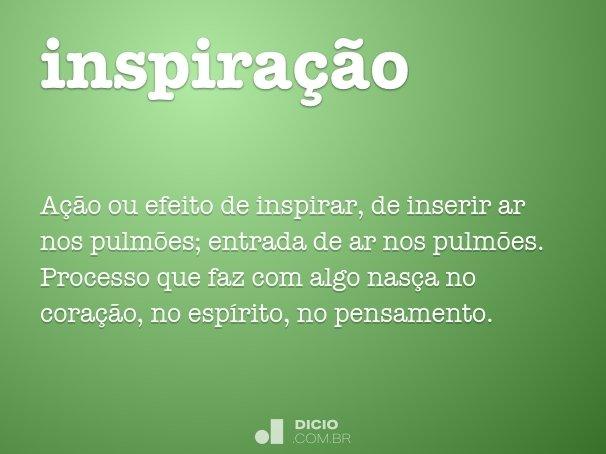inspira��o