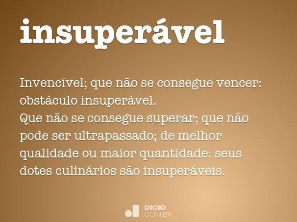 insuper�vel