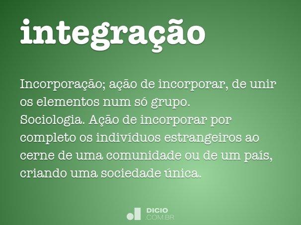 integra��o