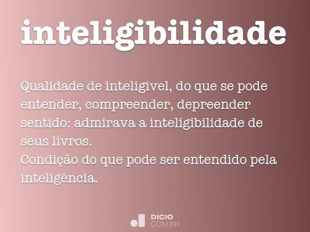 inteligibilidade
