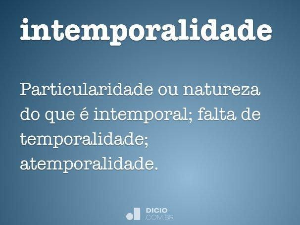 intemporalidade