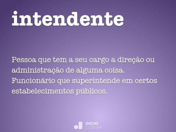 intendente