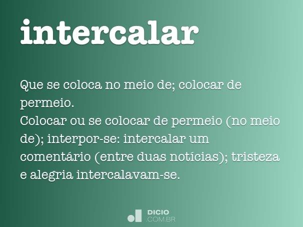 intercalar