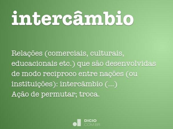 interc�mbio