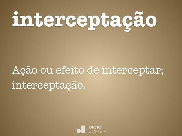 intercepta��o
