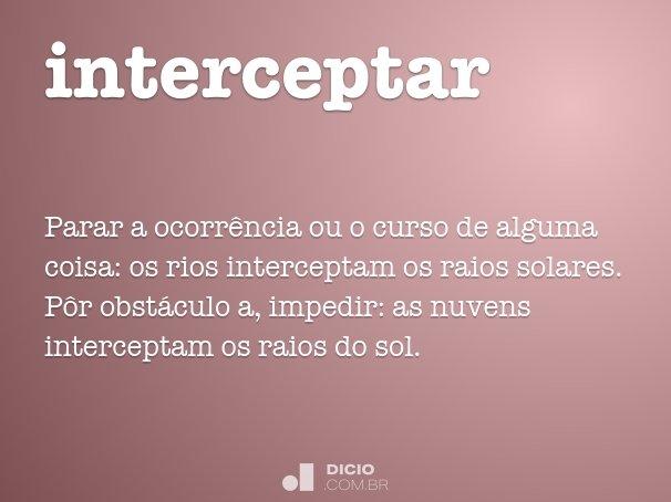 interceptar