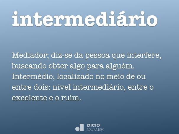 intermedi�rio