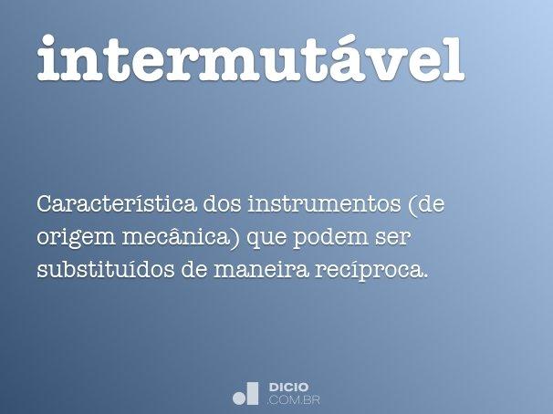 intermutável