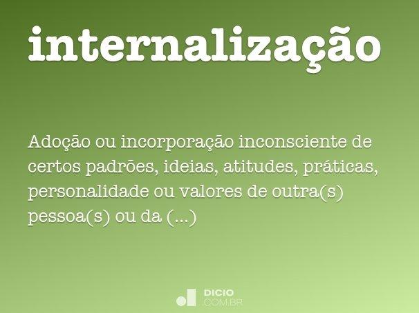 internaliza��o