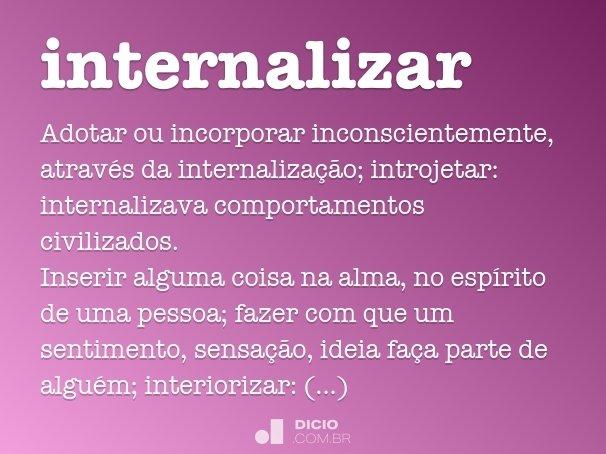 internalizar