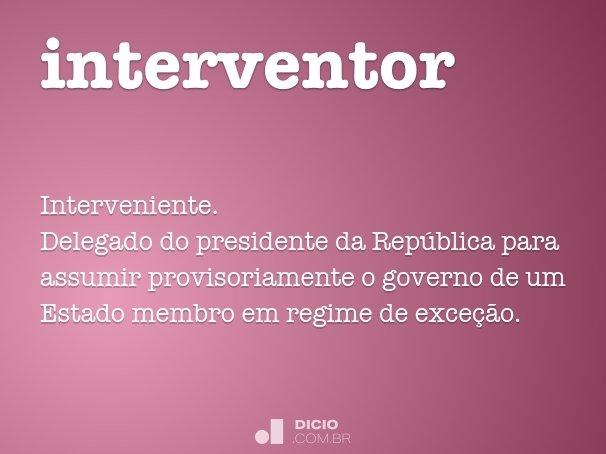 interventor