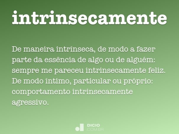intrinsecamente