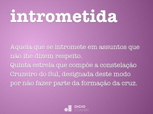 intrometida