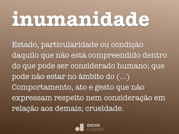 inumanidade