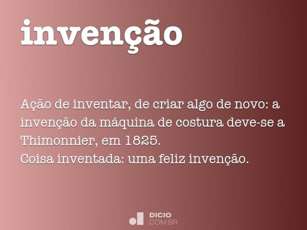 invenção