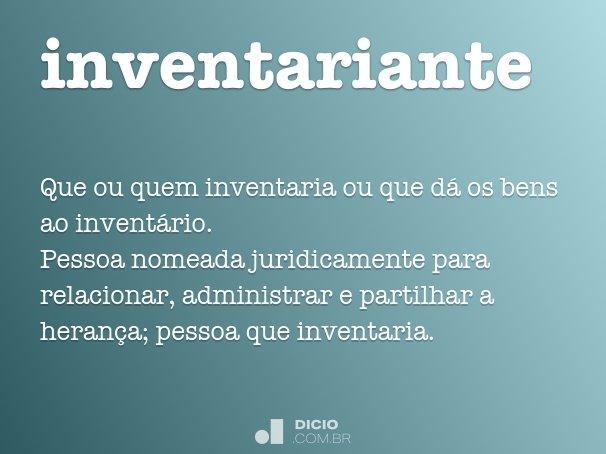 inventariante