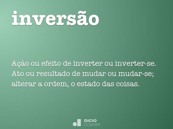 invers�o