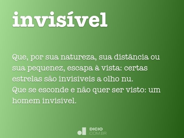 invis�vel