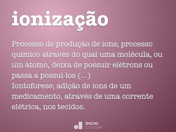 ionização