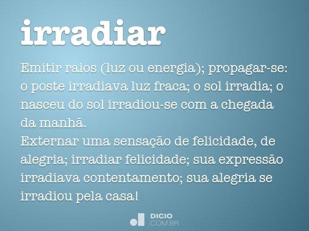 irradiar